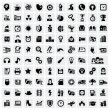 100 web icons — Stock Vector