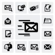 E-mail icons - Stock Vector