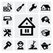 Construction icons — Stock Vector #16508317