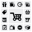Shopping icons — Stock Vector #16508319