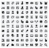 Education icons — Wektor stockowy