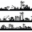 Construction icons - Imagen vectorial