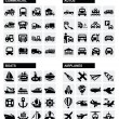 Transport icons — Stock Vector #16997853