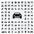 Auto icons - Stockvektor