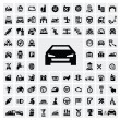 Stock Vector: Auto icons
