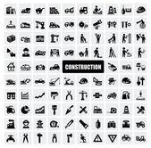 Konstruktion-ikonen — Stockvektor