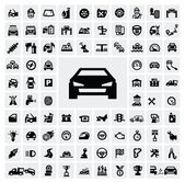 Iconos de auto — Vector de stock