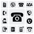 Phone icons — Stockvektor #17193221