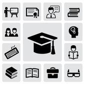 образование значки — Cтоковый вектор