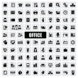 Office icons - Grafika wektorowa