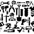 Stock Vector: Construction tools