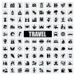 Travel and landmarks — Stock vektor
