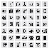 Phone icons — Vecteur