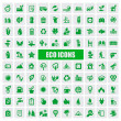 Eco pictogrammen — Stockvector  #17648577