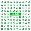 Eco icons - Stock Vector