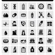 Medical icons — Vector de stock #17694565