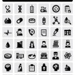 Royalty-Free Stock Vector Image: Medical icons