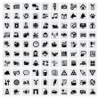100 web icons — Stock Vector #17881219