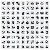 100 web iconen — Stockvector
