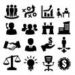 Business icons — Stock Vector #18081313