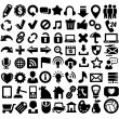 324 web icons — Stock Vector