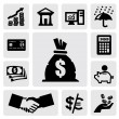 Finance Icons — Stock Vector #18377021