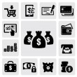 Stock Vector: Finance Icons