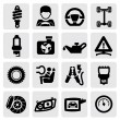 Auto icon - Stock Vector