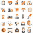 Medical icons — Vector de stock #18843861