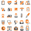 Medical icons — Image vectorielle