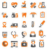Medizinischen symbole. — Stockvektor