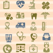 Medical icons — Stock Vector #18917973