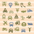 Transportation icon — Stockvector #18918091