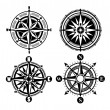 Compass icons - Stock Vector