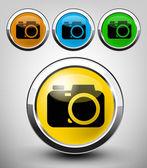Camera icon — Stock Vector