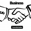 Royalty-Free Stock Vector Image: Illustration of handshake