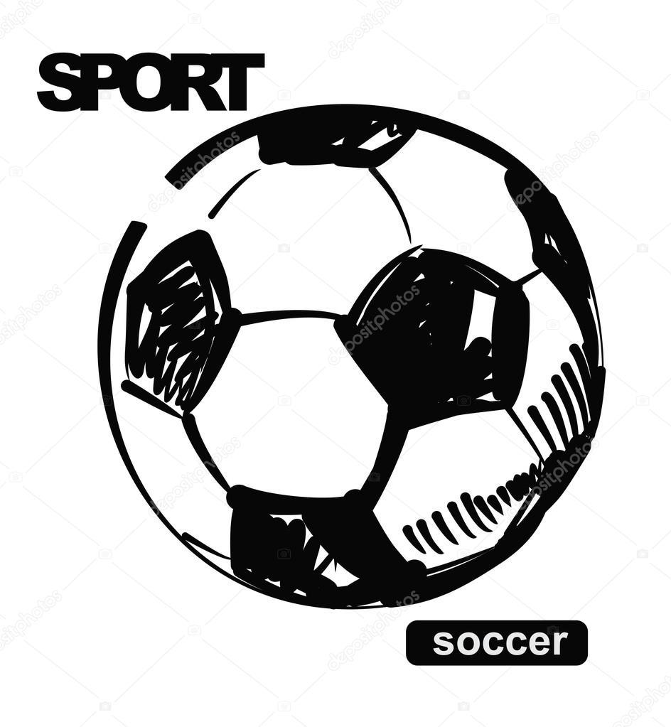 Balon Futbol Vector | New Calendar Template Site