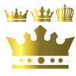 Crown icons — Stock Vector #19479807