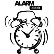 Alarm clock — Stock vektor