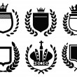 Royalty-Free Stock Vectorielle: Labels icon