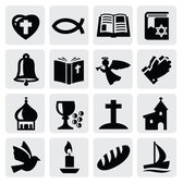 религия значок — Cтоковый вектор
