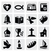 Icono de la religión — Vector de stock
