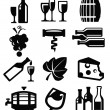 Wine icon — Stock Vector #19571853