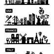 Travel icons — Stock Vector #19601539