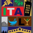 Vector Italy - Imagen vectorial