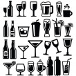 Beverages icon — Stock Vector