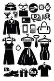 Clothing shop icon — Stock Vector