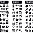 Kitchen icons - Stock Vector