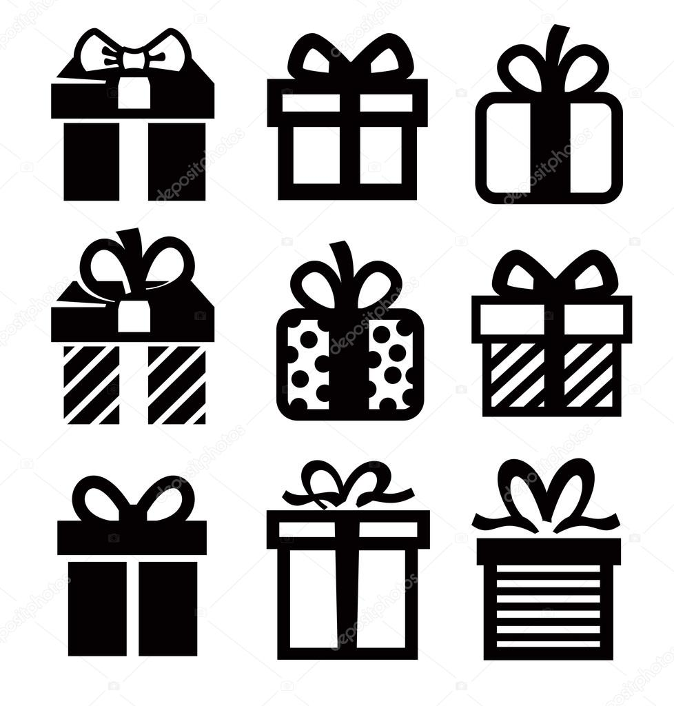 geschenk symbol stockvektor bioraven 21889371. Black Bedroom Furniture Sets. Home Design Ideas