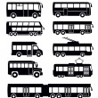 Stock Vector: Bus icon